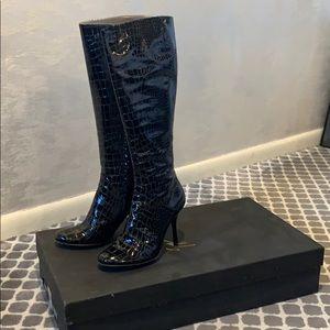 Giuseppe zanotti black boots